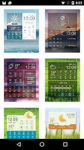 Clock Weather Fresh screenshot