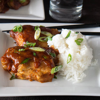 Pressure-Cooker Korean Chicken Thighs.