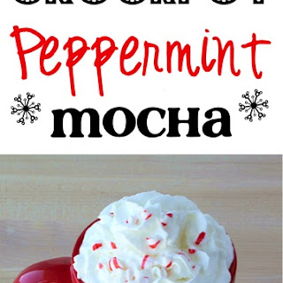 Crock Pot Peppermint Mocha