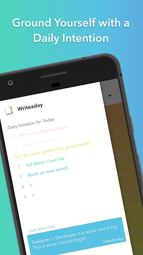 Writeaday - Journal, Diary, Timeline Appar (APK) gratis nedladdning för Android/PC/Windows screenshot
