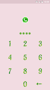 Watermelon App Lock Theme screenshot
