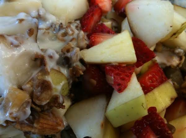 Nuts Granola Fruit Yogurt