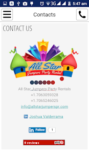 All Star Jumpers Party Rentals- screenshot thumbnail