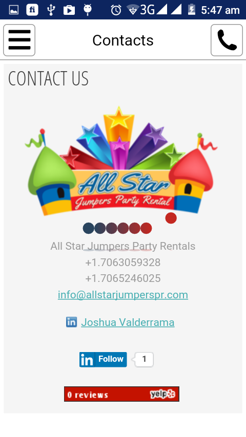 All Star Jumpers Party Rentals- screenshot