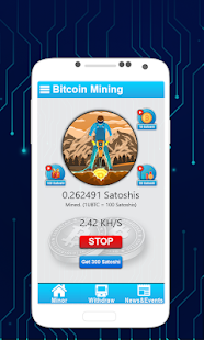 Download Minerator – Free Bitcoin Mining & Earn BTC For PC Windows