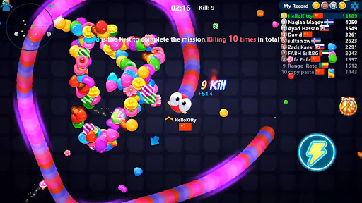 Snake Candy.IO - Real-time Multiplayer Snake Game 3189.3.6.4 screenshots 14