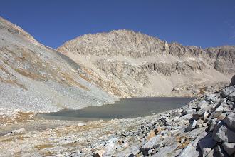Photo: Triple Divide Peak and Lion Lake