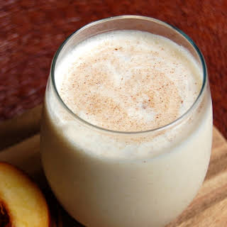 Peaches And Cream Smoothie.