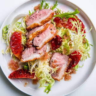 Seared Duck Breasts With Blood Oranges recipe | Epicurious.com.