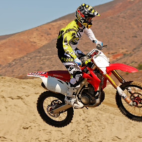 flying at pala by Rose Johnson - Sports & Fitness Other Sports ( moto, dirtbikes, dirt )
