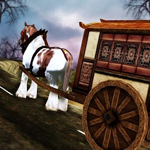 Impossible Track Derby Horse Carriage Simulator 3D