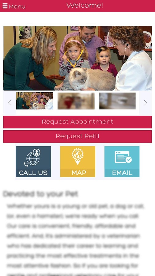 Caring Hearts Animal Hospital- screenshot
