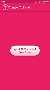 Excel To Contacts- screenshot thumbnail