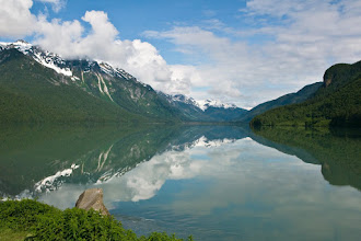Photo: Pretty lake near Skagway