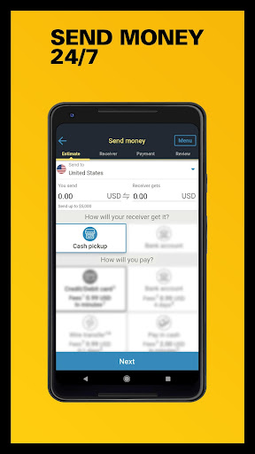 Download Western Union US - Send Money Transfers Quickly MOD APK 2