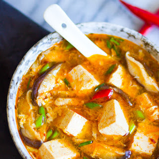Chinese Hot and Sour Soup.