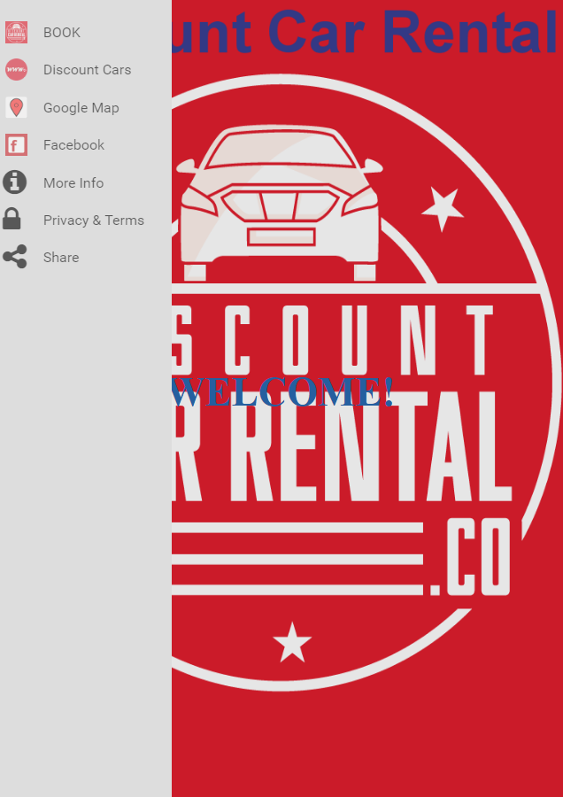 Discount Car Rental- screenshot
