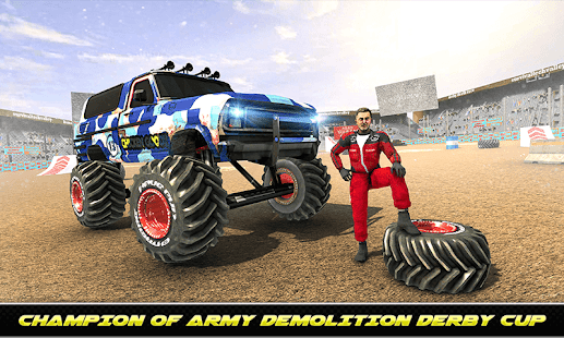 Army Monster Truck Demolition : Derby Games 2020 for PC-Windows 7,8,10 and Mac apk screenshot 3