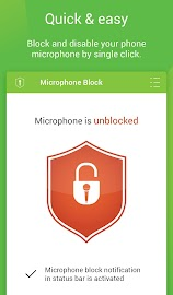 Mic Block - Anti spy & malware Screenshot 10