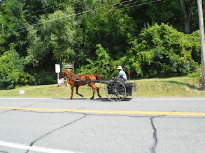 Photo: Day 51 August 8 2013 Herkimer to Latham NY  Amish in up state NY
