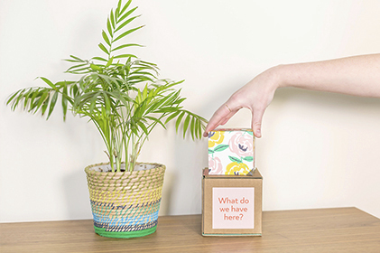 Image of Greetabl gift and plant.