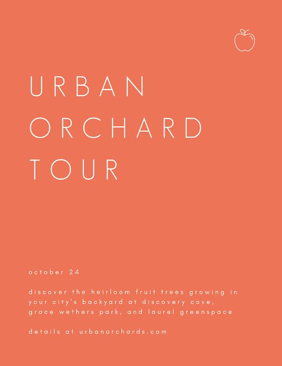 Urban Orchard Tour - Flyer Template