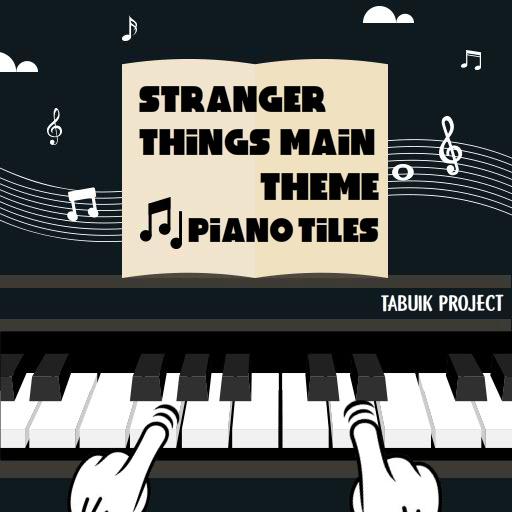 Stranger Things Main Theme Piano Tiles Game