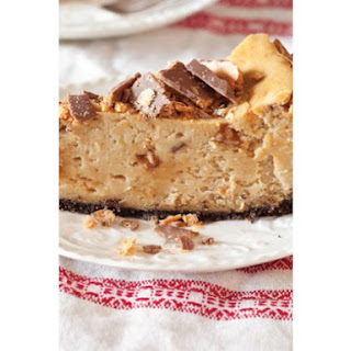 Peanut Butter Candy Cheesecake