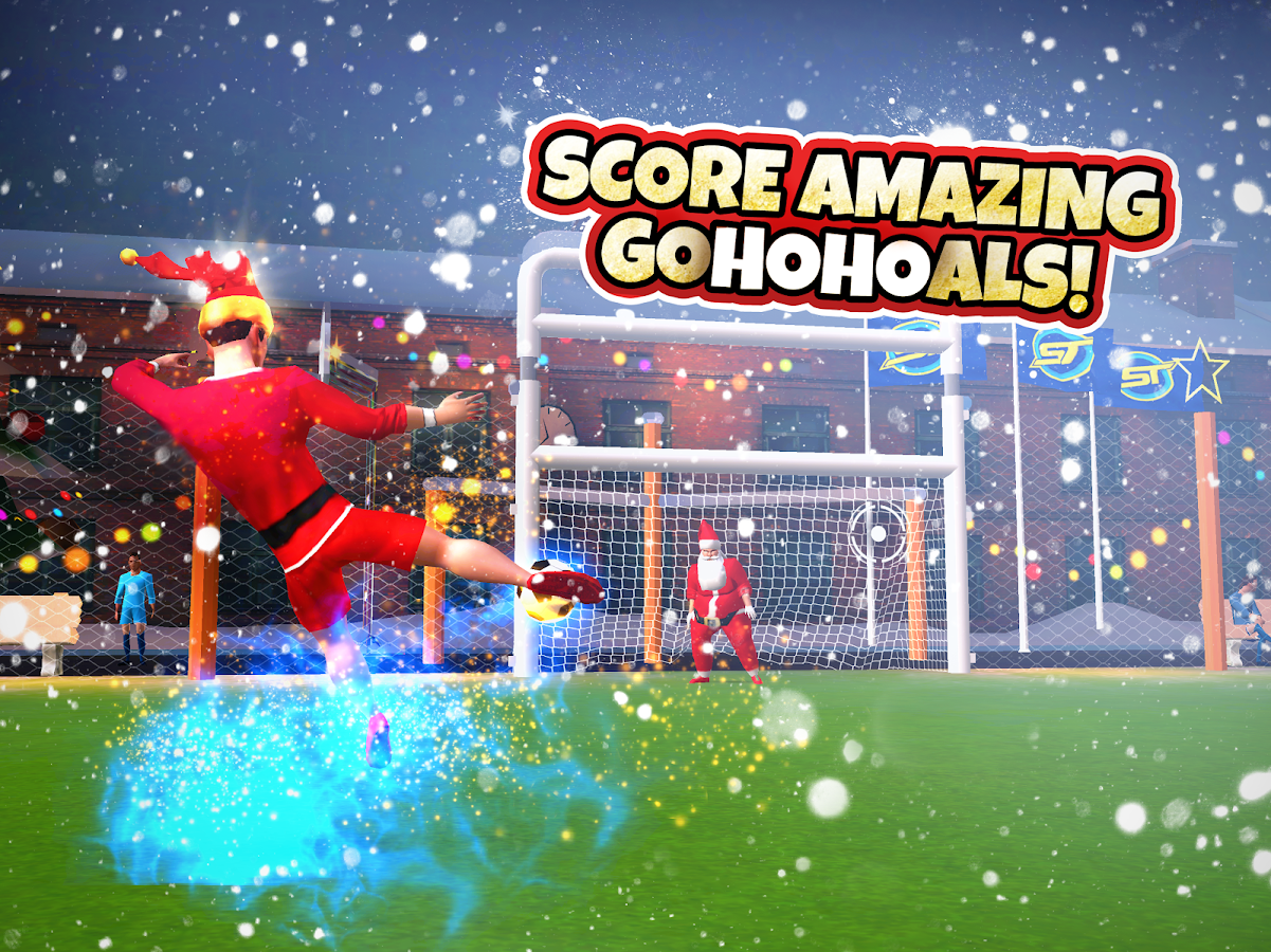SkillTwins Football Game- screenshot