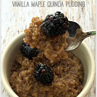 Vanilla Maple Quinoa Pudding.