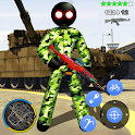 US Army Capitaine Stickman American Rope Hero mfia icon