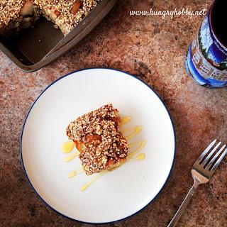 Vegan Pear Quinoa Bars