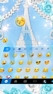Lux Butterfly Tower diamond Keyboard – Lux Theme 1.0 Android APK Mod 2