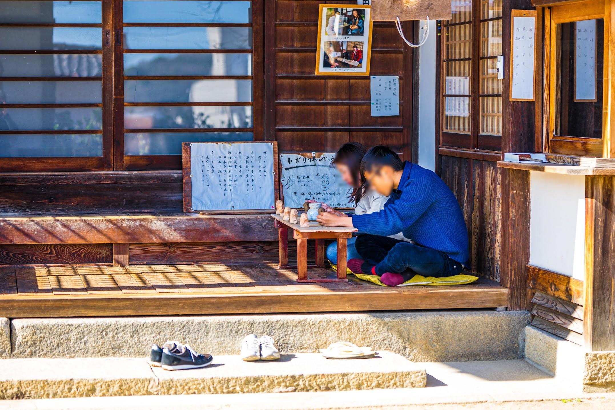 onomichi Jikoji Temple clay statue