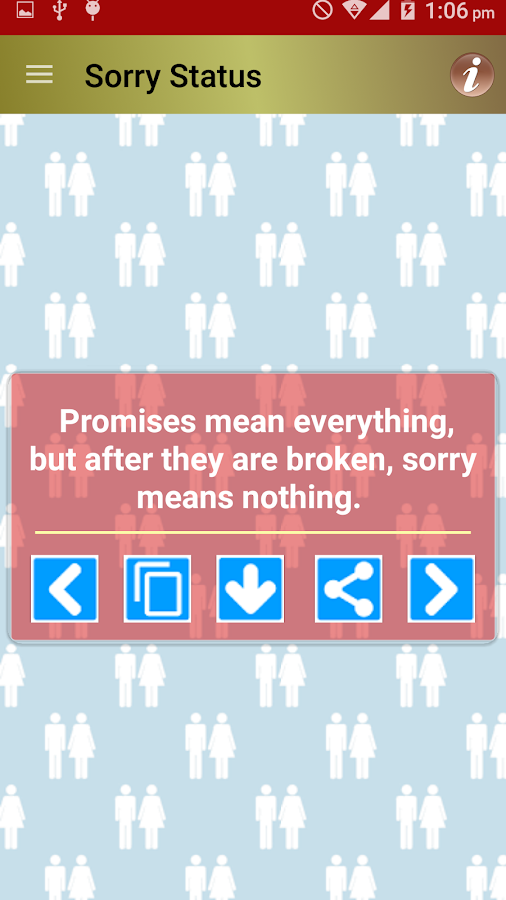 Sorry Messages Status & Quotes - Android Apps on Google Play