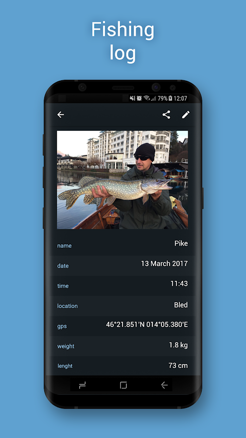 Fishing Calendar LT- screenshot