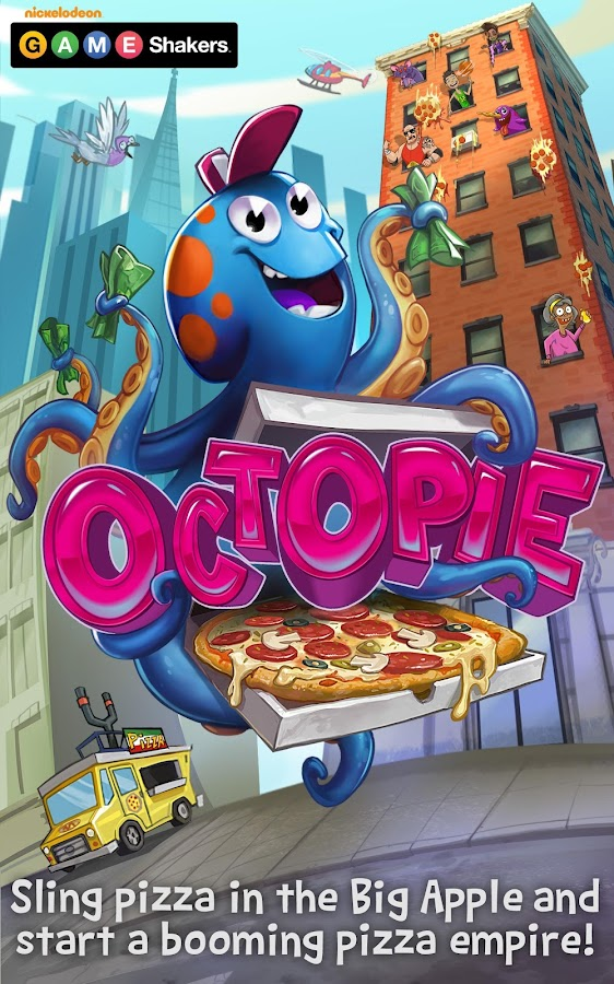 OctoPie – a GAME SHAKERS App- screenshot