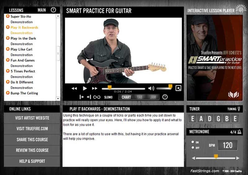 Jeff Scheetz - Smart Practice For Guitar