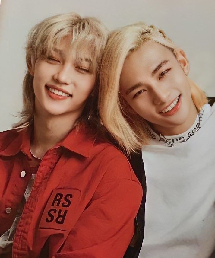 hyunjin and felix stray kids