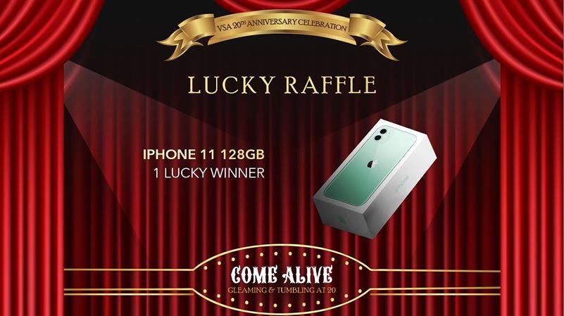 iPhone 11 Grand Raffle Prize