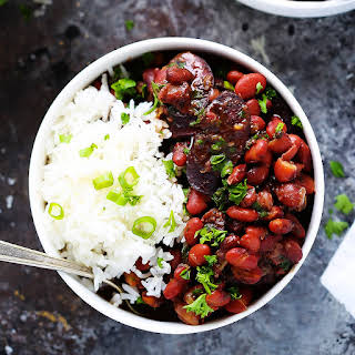Instant Pot Red Beans & Rice.