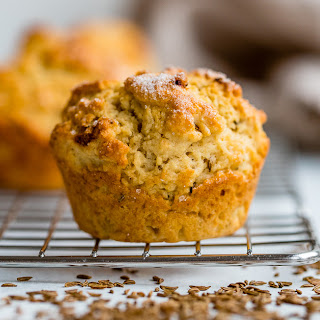 Caraway Irish Soda Bread Muffins.