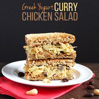 Greek Yogurt Curry Chicken Salad