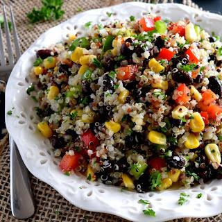 Quinoa Vegetable Salad.
