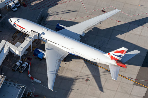 British Airways Boeing 777 Flies Vital COVID-19 Aid To India