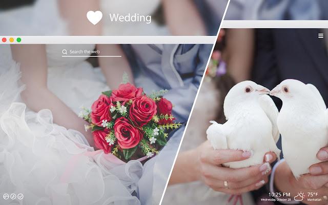 Wedding HD Wallpapers New Tab Theme