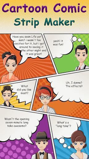 Cartoon Comic Strip Maker 1.6 Screenshots 1