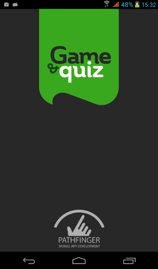 Game and Quiz- screenshot