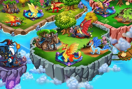 DRAGON VILLAGE -city sim mania MOD (Unlimited Currency) 3
