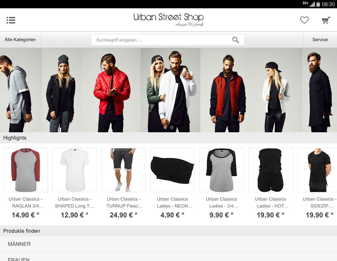 Urban Street Shop- screenshot
